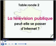 Vidéo de la deuxième table ronde : La télévision publique